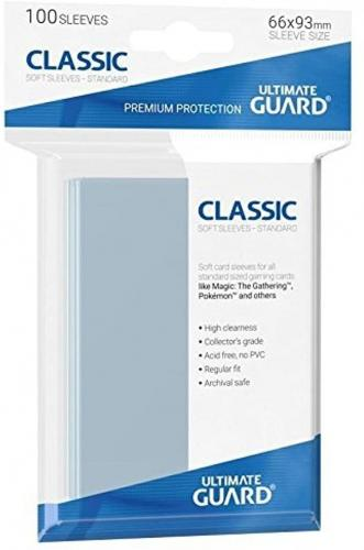 UG Classic Soft Sleeves Clear (100 Stück)