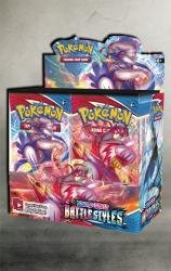 Pokemon Kampfstile Display 36 Booster
