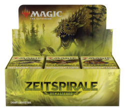 Magic Zeitspirale Remastered Draft Booster Display (36 Booster) DE